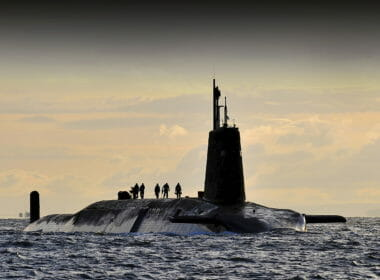 """Vanguard at Faslane 02"" by CPOA(Phot) Tam McDonald - Defence Imagery. Licensed under OGL via Wikimedia Commons - http://bit.ly/1CBWlhW"