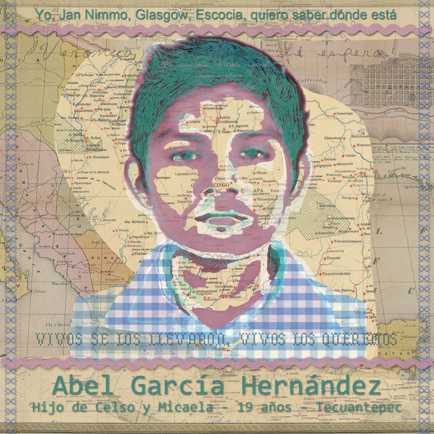 Portrait of Abel Garcia Hernandez by Jan Nimo