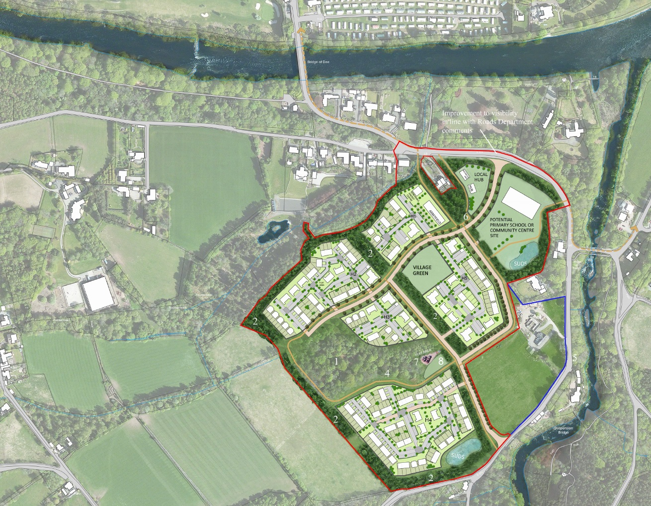 Image of 300 home masterplan