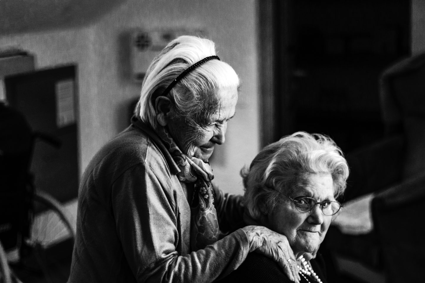 Older people in care home