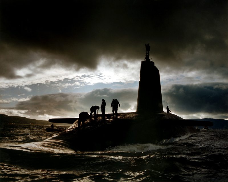 Nuclear submariners snub the Clyde due to 'Scottish