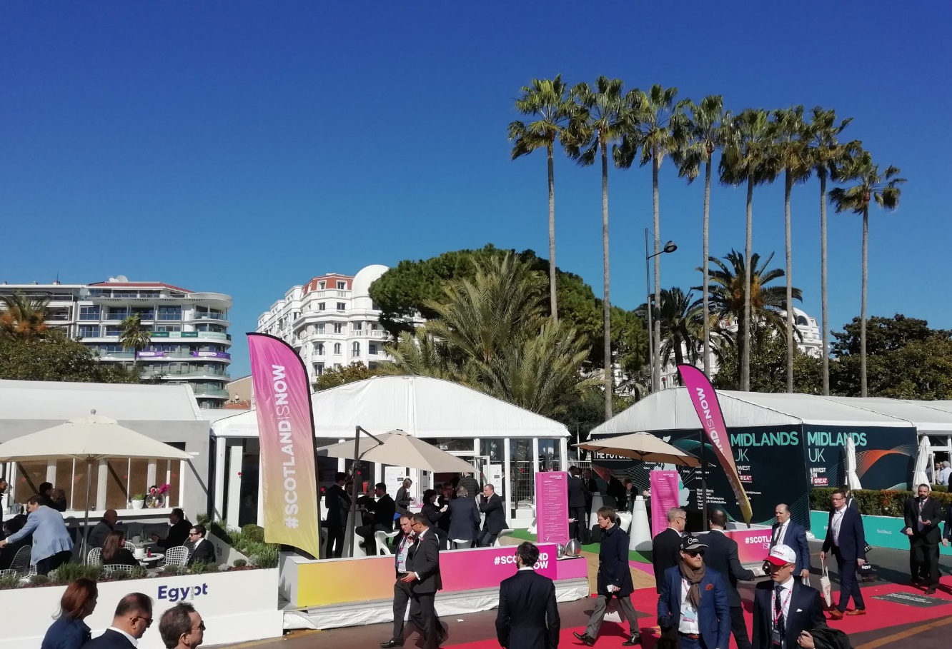 Scotland is Now Pavillion at MIPIM2019