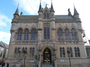 Inverness Town House was rennovated with common good funds