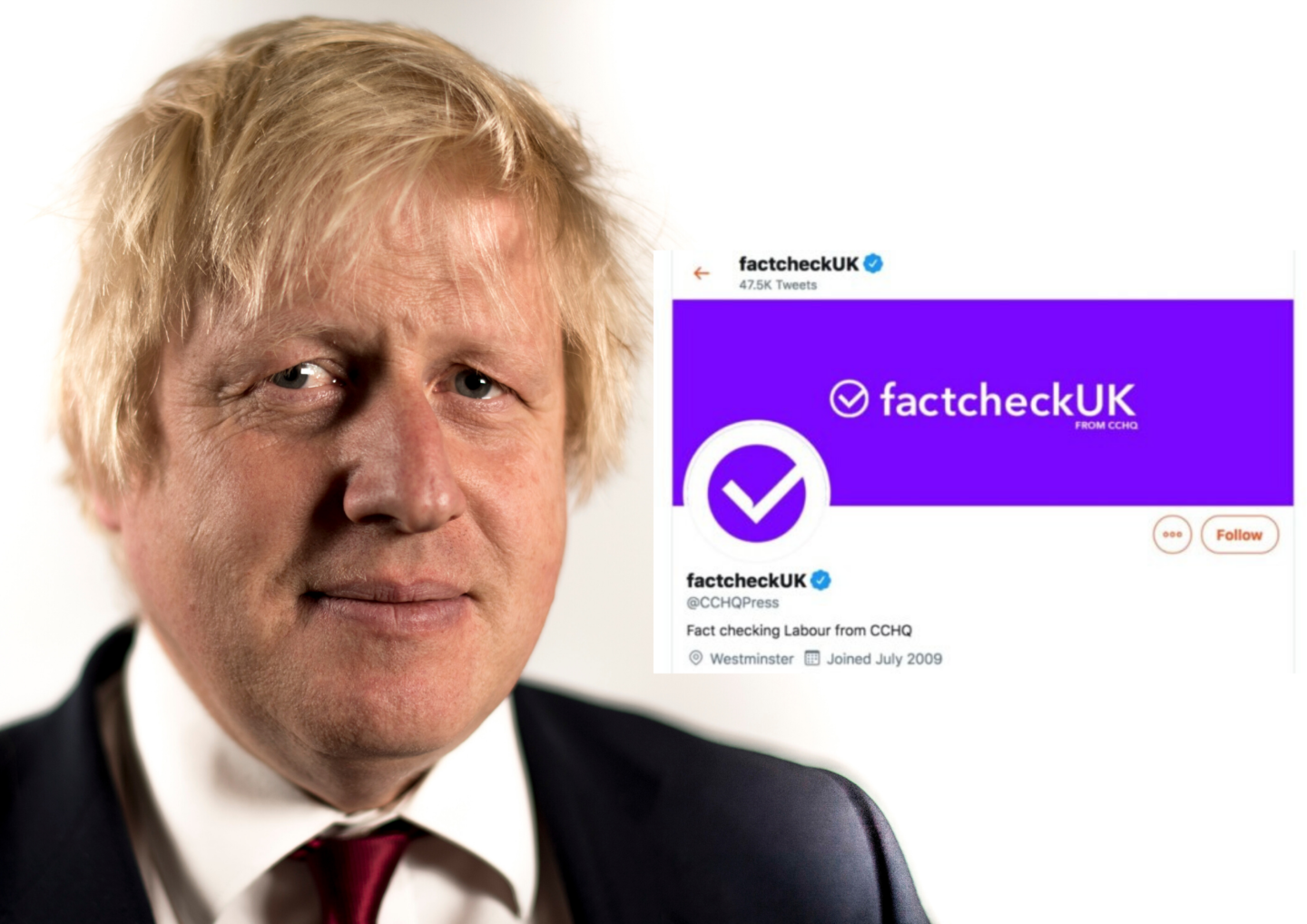 Fake Factcheck and Boris Johnson